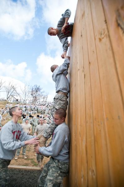 Virginia Military Institute training