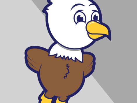 Bethel Manor Elementary School's mascot has always been an eaglet, but until 2015, there was no icon for the kids to rally around.